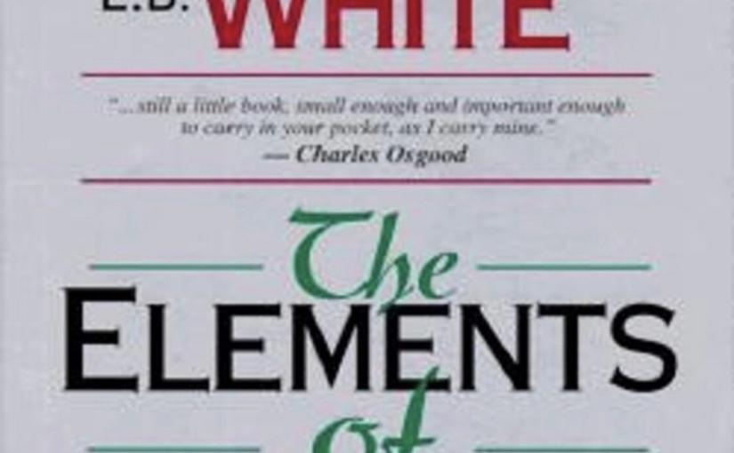 """シンプルに書く: """"The Elements ofStyle"""""""